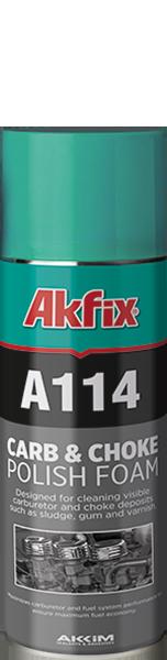A114 KARBÜRATÖR VE GAZ KELEBEĞİ TEMİZLEYİCİ SPREY
