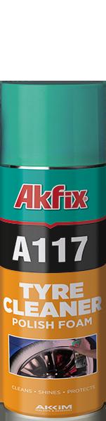 A117 LASTİK TEMİZLEYİCİ VE PARLATICI KÖPÜK